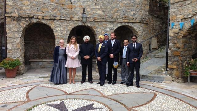 Official visit of the Indian delegation (29/11/2014)