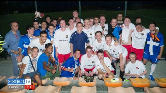Calcio: Amichevole Seborga – Sealand (10/08/2014)