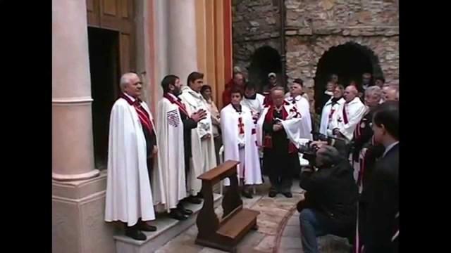 20/01/2013 : Adoubement de chevaliers par S.A.S. Giorgio I, Prince de Seborga