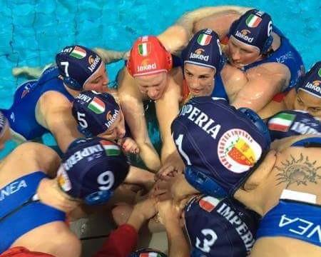 Water-polo féminin : Mediterranea Imperia championne d'Europe