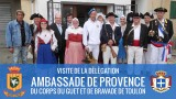 """24/05/2015: Visita della delegazione del """"Ambasciata della Provenza"""" e """"du Corps du Guet et de Bravade"""" di Tolone (Francia)"""