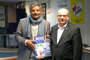 Ministro dello Sport della Repubblica Araba Saharouita - Consul Marcel Mentil