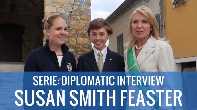 SERIE : INTERVIEW DIPLOMATIQUE – Susan Smith Feaster, représentante à Washington D.C. USA & VISITE d'une délégation de personnalités américaines