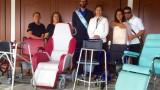Il Governo del Principato ha consegnato le attrezzature sanitarie ricevute dall'Associazione Bénin Tata Somba