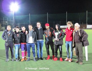 22-12-2015 FC Seborga 3rd place