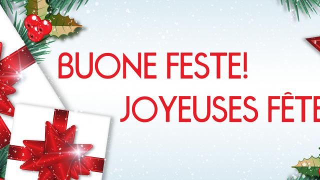Auguri di Buon Natale & Felice Anno Nuovo 2016 a tutti!