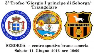 "JUNE 11th 2016 – 3rd Trophy ""Giorgio I Prince of Seborga"""