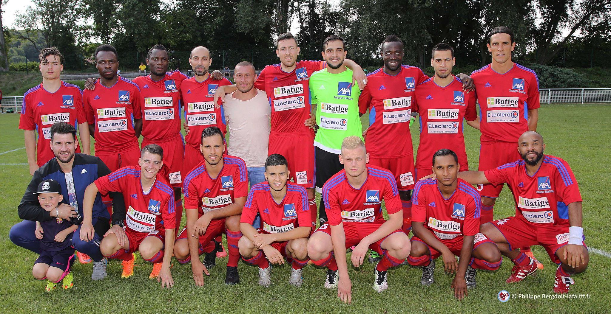 L'équipe du FC Hégenheim