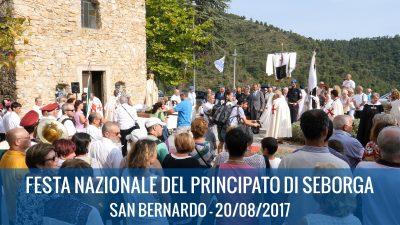20/08/2017 : FESTA NAZIONALE DEL PRINCIPATO DI SEBORGA 2017 – San Bernardo