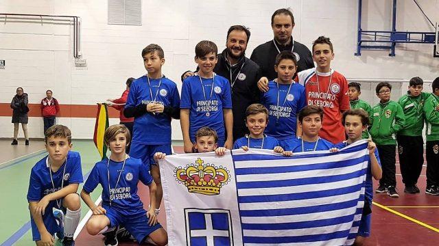 CALCIO – 2° Posto della Nazionale under-13 di Seborga al Torneo Internazionale di football sala di Lainate – Milano