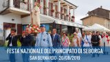 20/08/2019 : Fête nationale de la Principauté de Seborga 2019 – Saint Bernard