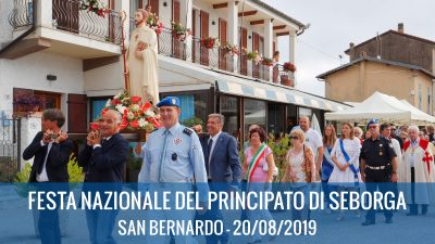 20/08/2019: Festa nazionale del Principato di Seborga 2019 – San Bernardo