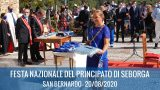20/08/2020 : Fête nationale de la Principauté de Seborga 2020 – Saint Bernard